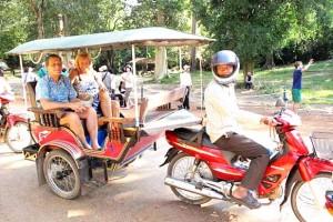 Tuktuk Sieam Reap