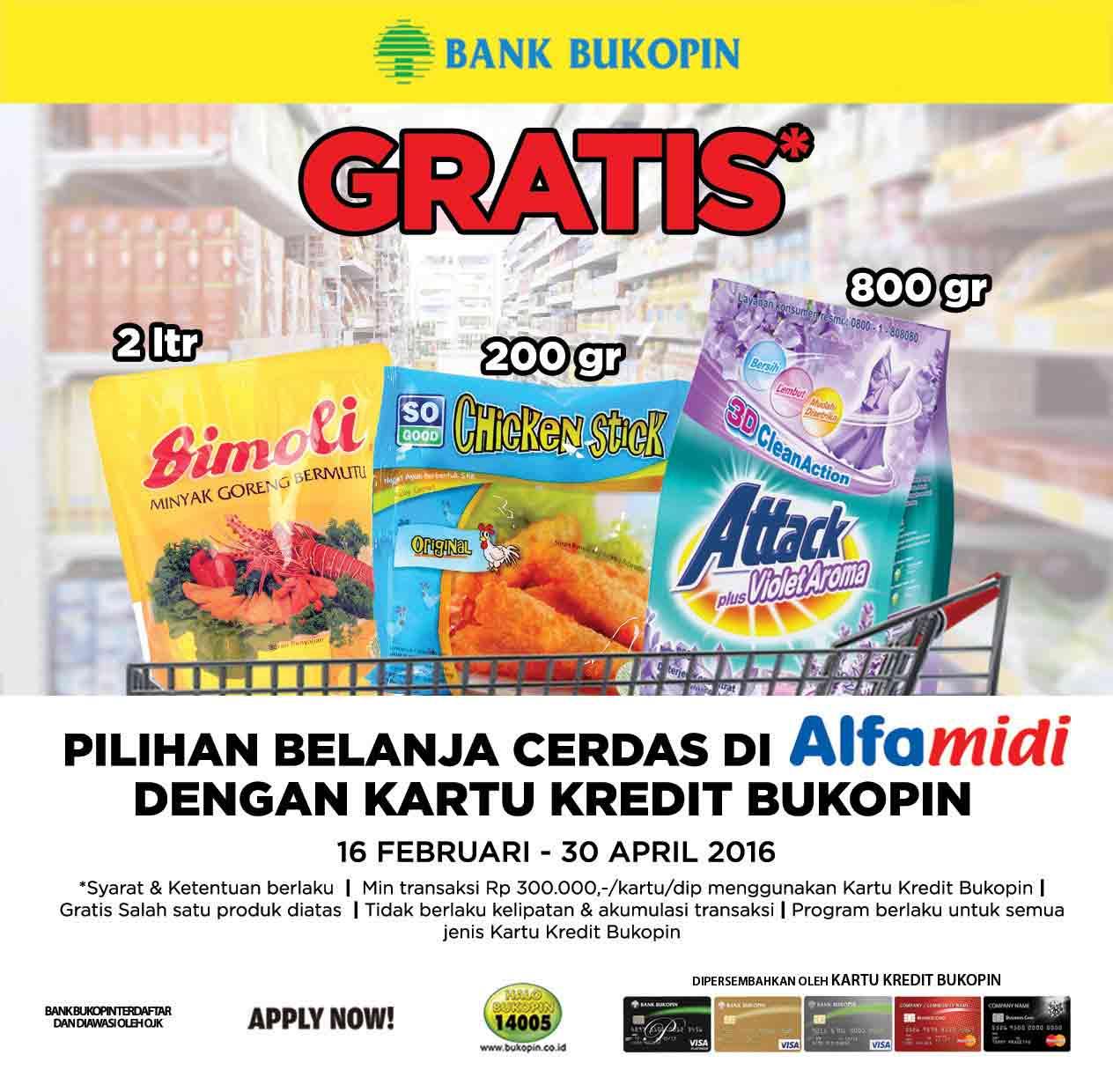 promo kartu kredit bukopi alfamidi-CekAja.com