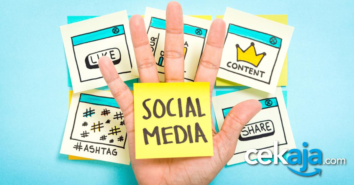 tips pakai media sosial - CekAja.com