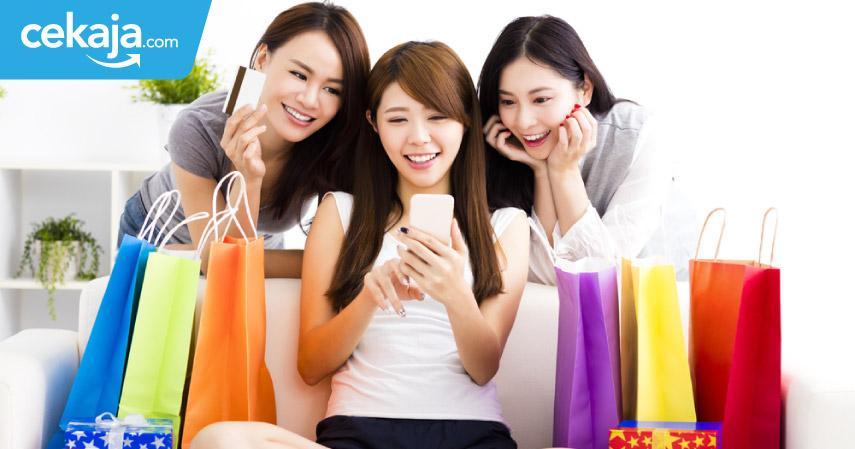 belanja menggunakan kartu kredit - CekAja.com