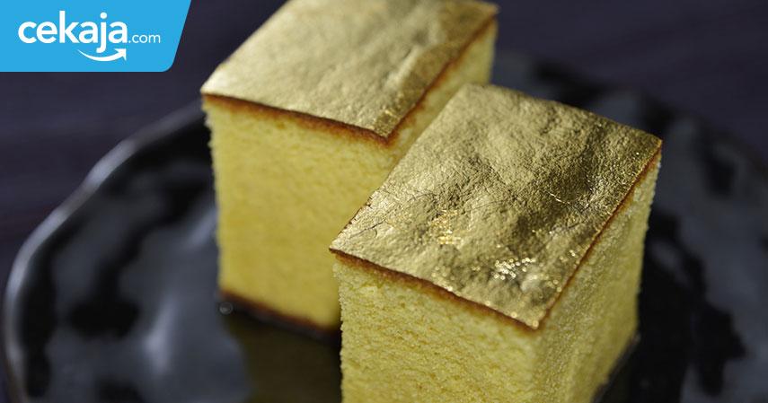 kue termahal berlapis emas - CekAja.com